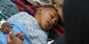 Yüzbinlerce Yemenli Çocuk Koleraya Yakalandı