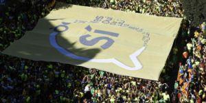 Barcelona'da dev 'bağımsızlık' gösterisi