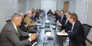 Başkan Barzani ve McGurk görüştü