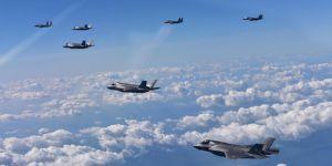 ABD,Kore yarımadası üzerinde tatbikat yaptı