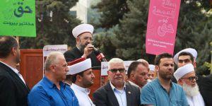 Lübnanlı alimlerden 'Cuma günü tatil olsun' eylemi