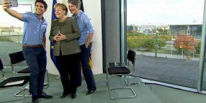 Merkel: Türkiye'deki sorunların Almanya'ya  istemiyoruz