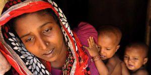 Arakan'daki zulüm en çok kadınları ve çocukları vuruyor
