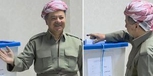 Başkan Barzani oyunu kullandı