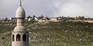 Siyonist İsrail'den Filistin köyüne 'ezan yasağı'