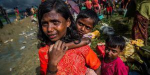 'Bangladeş'e sığınan 320 bin Arakanlı çocuk tehdit altında'