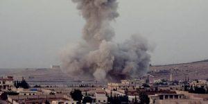 Çıban İsrail Suriye'yi bombaladı