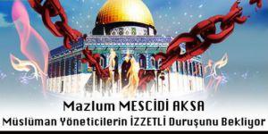 """İstanbul'da """"DİRENEN Halk FEDAKAR Ümmet"""" Başlıklı Beytül Makdis Forumu"""