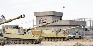 Irak Kürdistan sınıra askeri yığınak yapıyor