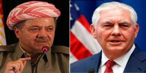 İkiyüzlü Tillerson: Barzani ile uzun bir görüşme yaptım