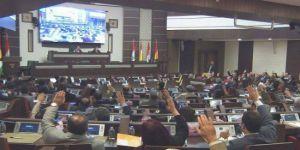 Kürdistan Parlamentosu'nda kapalı oturum
