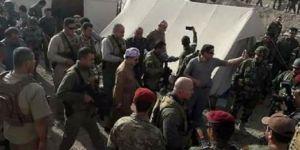 Başkan Barzani cephede