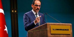 Kalın'dan 'Erbil'le görüşme' açıklaması