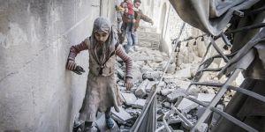 Suriye'de geçen ay 209'u çocuk 923 sivil yaşamını yitirdi
