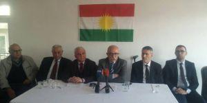 Kürdistani 5 partiden ortak açıklama: Kürdistan, Türkiye'ye tehdit değil