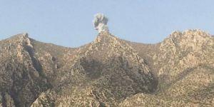 Süleymaniye dağlarında bombardıman!