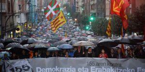 Basklardan Katalanlara destek