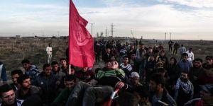 İşgal güçlerinden Filistinlilere müdahale: 62 yaralı
