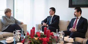 Merkel'den Barzani'ye: Anayasal haklarınızı destekliyoruz