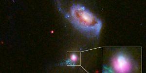 800 milyon ışık yılı uzaktaki kara delikte çifte 'kozmik geğirme'