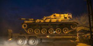 Sınıra tank sevkıyatı