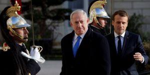 Macron'dan Siyonist Netanyahu'ya İran çağrısı