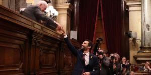 Katalonya Parlamentosu yeniden aktif hale geldi