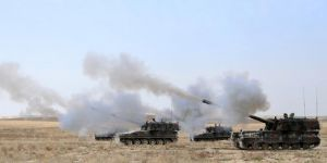 TSK'dan Afrin'e top atışı