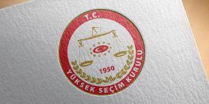 YSK,seçime katılacak partileri belirledi