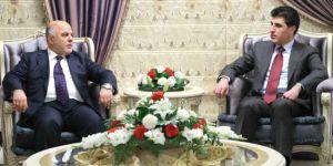 Barzani ve Abadi arasında görüşme