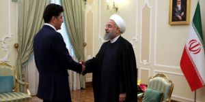 Barzani, Ruhani ile görüştü