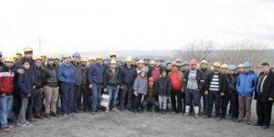 3 buçuk aydır maaşlarını alamayan işçiler eylem başlattı