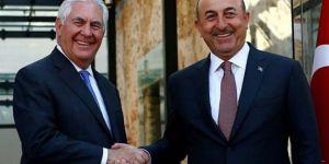 Çavuşoğlu: Tillerson 30 kilometrelik 'güvenli hat' önerisi yaptı