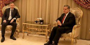"Erbil Başkonsolosundan Felah Mustafa'ya ""Afrin"" ziyareti"