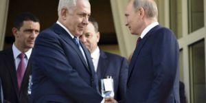 Putin ile Faşist Netahyahu ''Suriye ve İran'ı'' görüştü