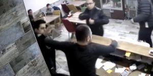 Polis Garson ve İş Yeri Sahibini Darp Etti