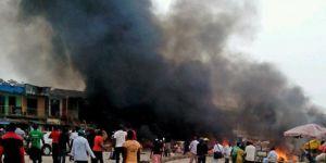 Nijerya'da pazar yerine bombalı saldırı