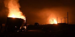 TSK: Afrin'e ilerleyen 30-40 araçlık konvoy vuruldu