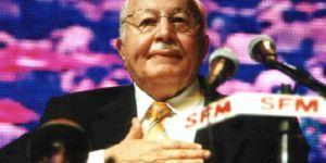 Necmeddin Erbakan vefatının 7. yılında anılıyor