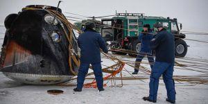 Soyuz kapsülü 5.5 ay sonra Dünya'ya döndü