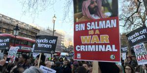 Li Londrayê li dijî Mûḥemmedê kurê Selmanê Prensê Protesto Rû Da