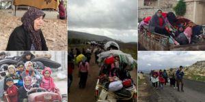 Suriye Gözlemevi: 150 bin kişi Afrin'i terk etti