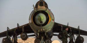 ÖSO'dan 'Şam'da Suriye ordusuna ait uçağı düşürdük' iddiası