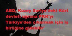 ABD, Kuzey Suriye'deki Kürt devleti uğruna PKK'yı Türkiye'den çıkarmak için iş birliğine gidebilir'