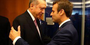 Macron, Erdoğan'a Afrin'le ilgili endişelerini açıkladı