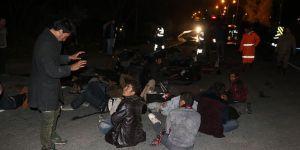 Iğdır'da minibüs kaza yaptı:17 ölü 36 yaralı