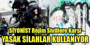 SİYONİST Rejim Sivillere Karşı YASAK SİLAHLAR Kullanıyor