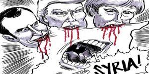 Suriye'ye emperyalist müdahale