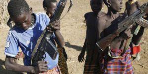 Güney Sudan'da 200 çocuk savaşçı serbest bırakılacak