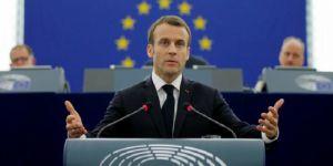 """Macron'dan AB'ye """"acil reform"""" çağrısı"""